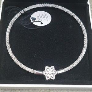 Pandora 8.3 Mesh Snowflake bracelet